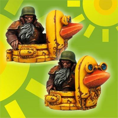 Moskal Admiral on Panzer Duck