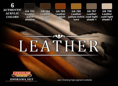 Leather Paint Set (6)