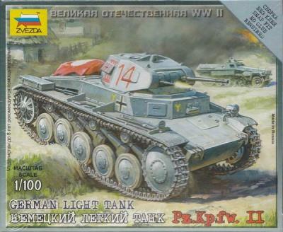 1:100 Wargame AddOn: Pz.>Kpfw. II