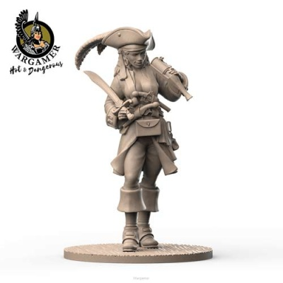 Jackie, the Pirate (28mm)