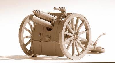 British 13pdr MkI gun