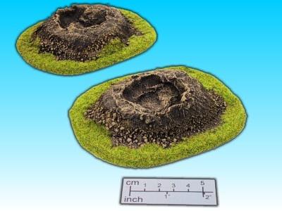 Geländestück Krater (2 Stück)