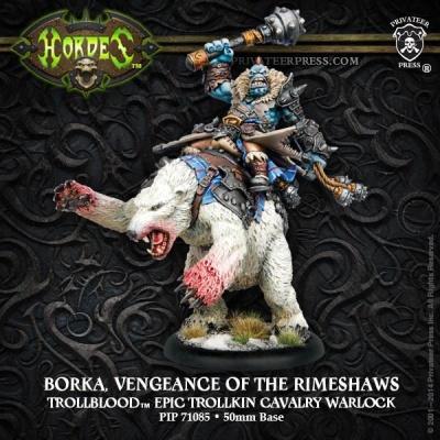 Trollblood Borka, Vengeance of the Rimeshaws, Epic Warlock