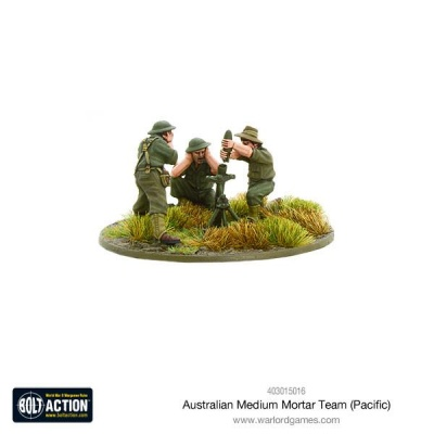 Australian medium mortar team (Pacific)