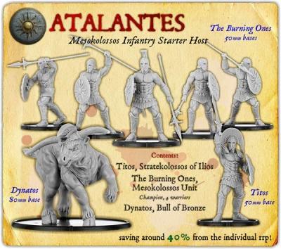 Atalantes Mesokolossos Monstrous Infantry Starter Host