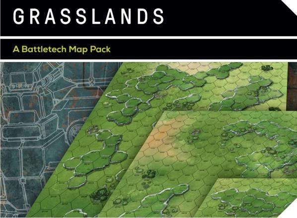 BattleTech Map Set - Grasslands
