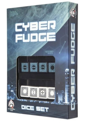 Cyber Fudge 4 Black & Blue + 4 White