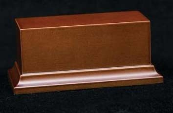 Wooden Base Brown, 105x45x50mm