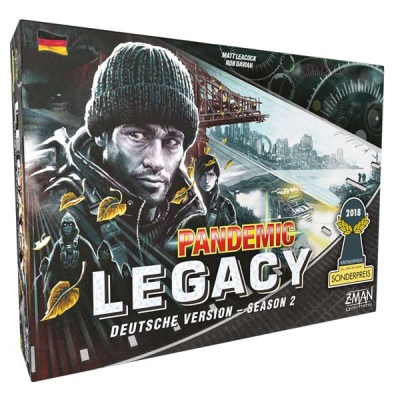 Pandemic Legacy - Season 2 SCHWARZ -Deutsch-