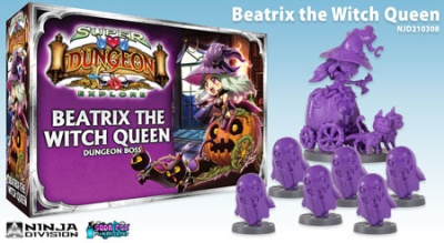 Super Dungeon Explore: Beatrix the Witch Queen