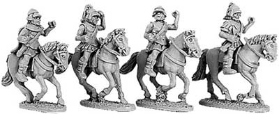 Armoured Greek Cavalry with Boiotian helmets (ran
