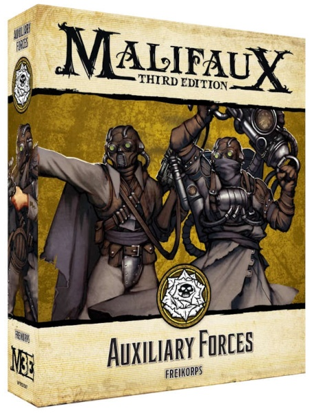 Malifaux (M3E): Auxiliary Forces