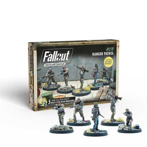 Fallout: Wasteland Warfare - NCR: Ranger Patrol