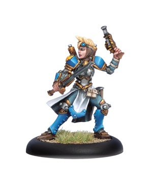 Cygnar Journeyman Warcaster (Alt)