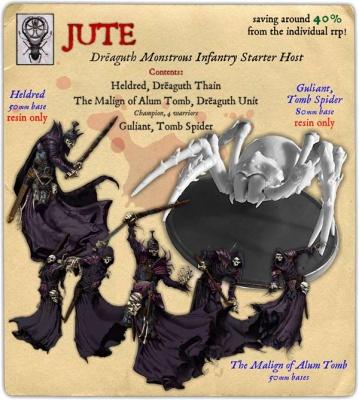 Jute Dreaguth Monstrous Infantry Starter Host