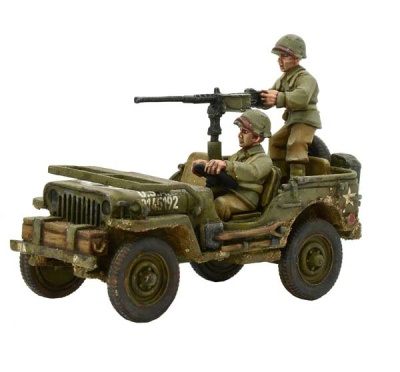 US Army Jeep with 50 Cal MMG