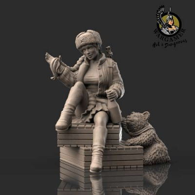 Marusha from the Red Army (28mm)
