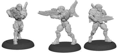Paladin Enforcers - Warcaster Iron Star Alliance Squad
