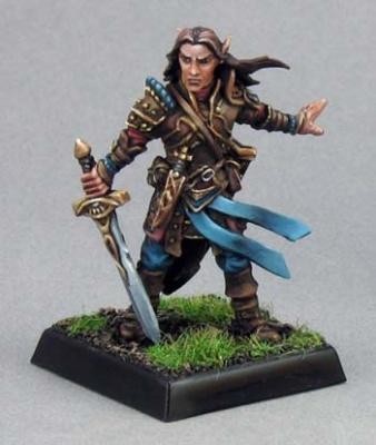 Arael, Half-Elf Cleric