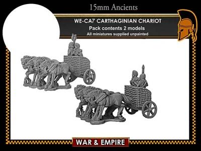 Carthaginian 4-Horse Chariots