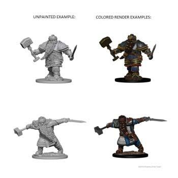 D&D: Dwarf Male Fighter (2)