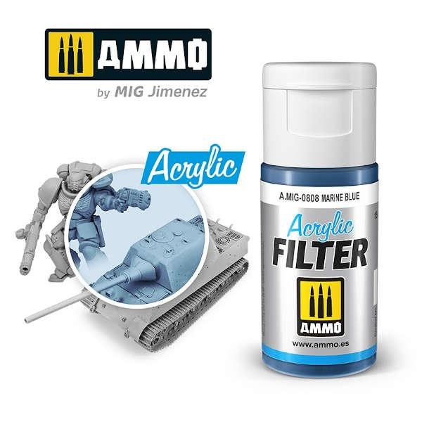 ACRYLIC FILTER Marine Blue (15ml)