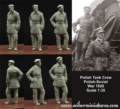 1:35 Polish FT17 Tank Crew (1)