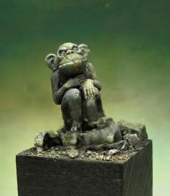 Alkemy - Statue de singe