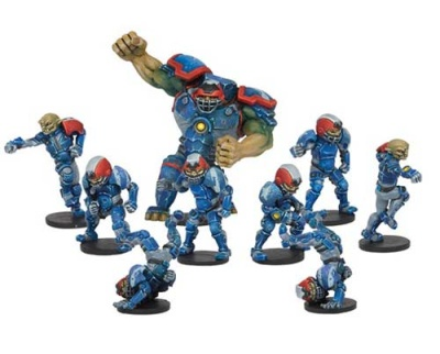 Rallion Roses - Hobgoblin DreadBall Team