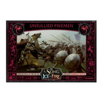A Song Of Ice And Fire - Unsullied Pikemen - EN