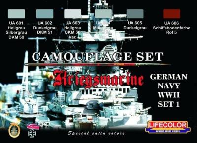 """Camouflage Set  I """"Deutsche Kriegsmarine WWII"""""""