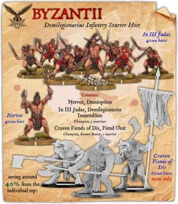 Byzantii Demilegionarius Infantry Starter Host