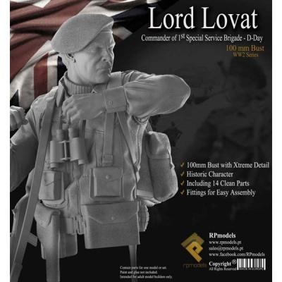 Lord Lovat BUST
