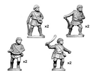 Numidian Warriors with Slings (8)