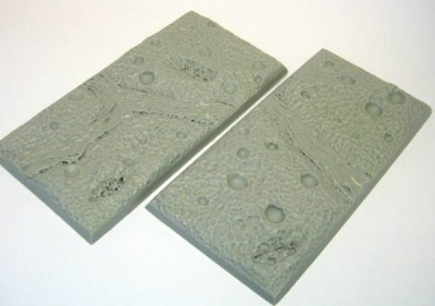 Fire and Brimstone - Square Chariot Base 50mm x 100mm (2)