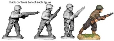 US Infantry Riflemen (4)