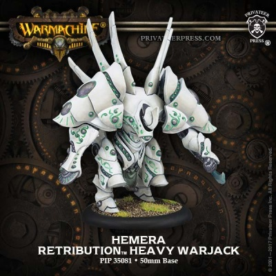 Retribution Heavy Warjack Hemera