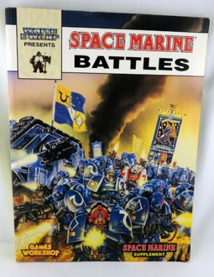WH EPIC: Space Marine Battles Buch