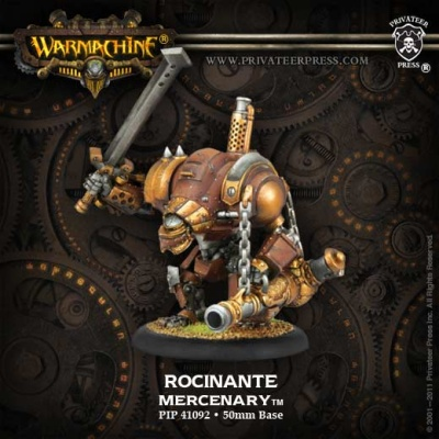 Rocinante Character Heavy Warjack Upgrade Kit