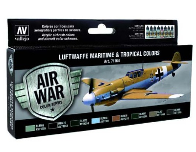 Model Air Set Luftwaffe Maritime and Tropical colors (8)