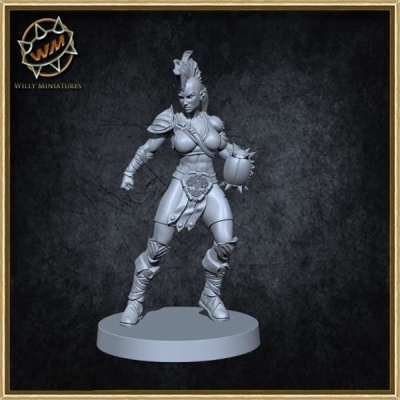 Female Wardancer (75mm)