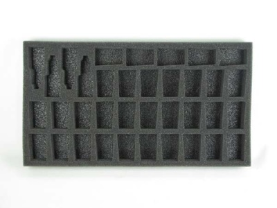 Hobby Tool and Model Foam Tray for Privateer Press Bags