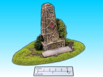 Geländestück Monolith