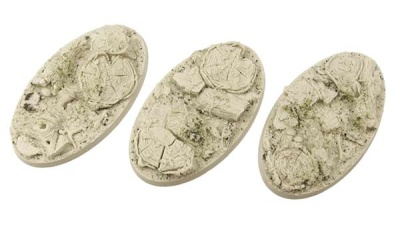 Forest Bases, Oval 75mm (2)
