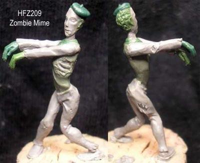 Zombie Mime