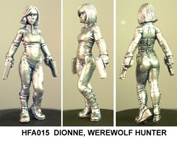 Dionne,  werewolf hunter