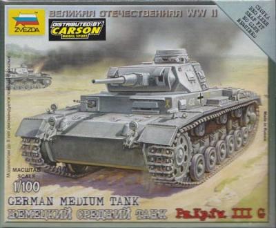 1:100 Wargame AddOn: Panzer III G
