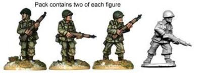US Airborne Riflemen (8)