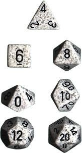 Chessex Arctic Camo Speckled 7-Die Set