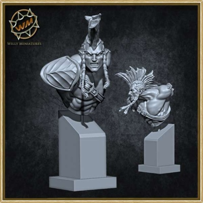 Wardancer Bust